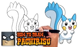 How to Draw Pachirisu | Pokemon