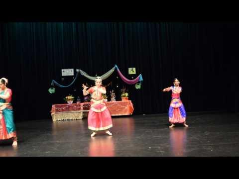 bharathanatyam Abhinandana dance school UGADI 2017 in Canberra