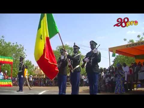 Défilé Du 4 Avril à Gossas des militaires