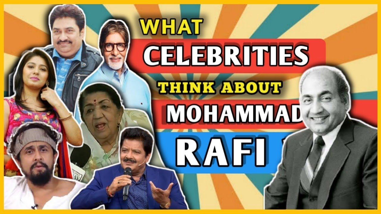 Who Is Mohammad Rafi ?   What Celebrities Think About Mohammad Rafi Sahab   Ft. Sonu N, Lata M , AB🔥