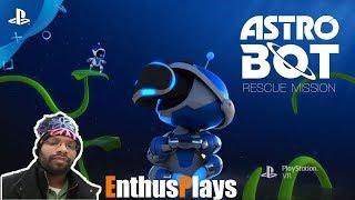 Astro Bot Rescue Mission (PSVR) - EnthusPlays #AstroBot #AstroBotRescueMission #PSVR