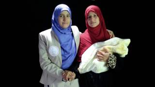 برومو الحملة الوطنية لمناهضة العنف ضد المراة  موسومة بـ #هي_أمانة  تحت شعار كفى إهانة المرأة أمانة