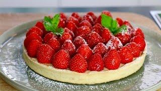 Tarte aux fraises inratable : la recette facile en 3 étapes