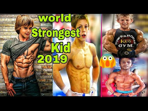 The Strongest Kids In The World | Youngest Bodybuilder 2019| Most Muscular Kid