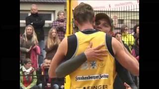 Beachcup Frankenberg - Heimsieg für Paul Becker und Jan Romund