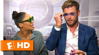 Chris Hemsworth \u0026 Tessa Thompson Pick New MIB Agent Shades | 'Men in Black: International' Interview