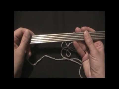 ★★★ Как вязать носок. Часть 1. Уроки вязания спицами. ★★★