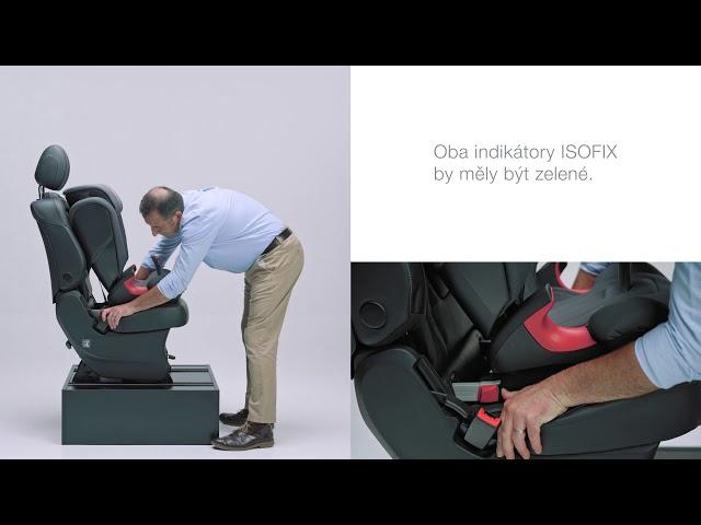 Instalace autosedačky KIDFIX 2 S do auta| Britax Römer CZ & SK