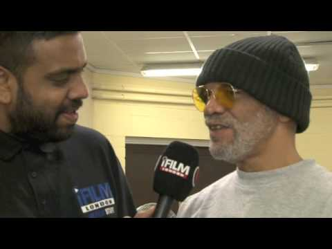 PAUL BARBER DENZIL  FOR iFILM LONDON  OFAH CONVENTION 2012 PETERBOROUGH