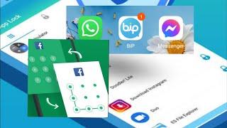 Telefonunuzdaki Uygulamalara Şifre Desen Nasıl Oluşturulur | Uygulama Kilidi screenshot 4