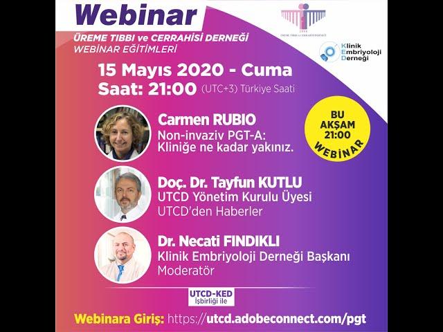 Carmen RUBIO - Non-invaziv PGT-A Kliniğe ne kadar yakınız...