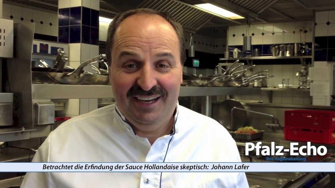 Johann Lafer grüßt die Leser des Pfalz-Echos