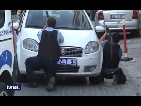 Dur ihtarına uymayan şüpheliler polise ateş açtı