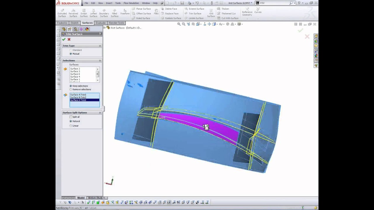 Solidworks Tips Tricks Surface To Solid Youtube