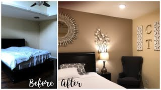 Master Bedroom Extreme Makeover | Gave My Parents A New Room Over The Weekend | Blue Honey Home