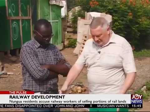 Railway Development - The Pulse on Joy News (20-4-17)