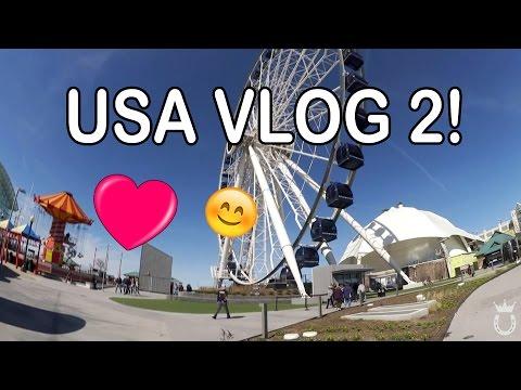 Das erste Mal in CHICAGO ♥ | Marina goes America VLOG #2 | Marina und die Ponys