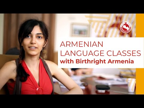 Armenian Language Classes | Birthright Armenia