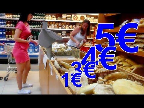 #Черногория продукты в супермаркете цена (Montenegro products in the supermarket price)