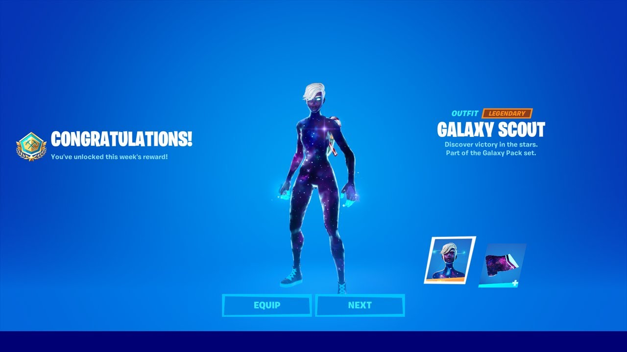 Fortnite Android Galaxy Skin How To Get Galaxy Scout Now For Free In Fortnite Unlock Galaxy Scout Skin Free Galaxy Girl Youtube