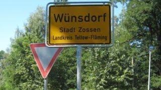 Wünsdorf Путешествие, 2010 год. Камера 1.