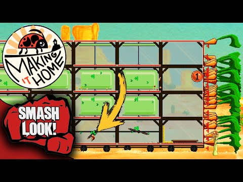 If Airships Were Built By Bugs   Making It Home - Smash Look!  