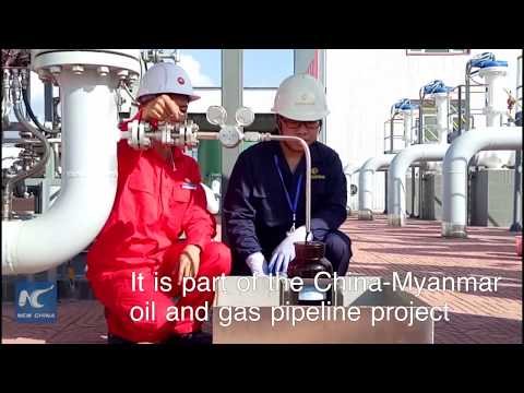 China receives first oil from Myanmar pipeline