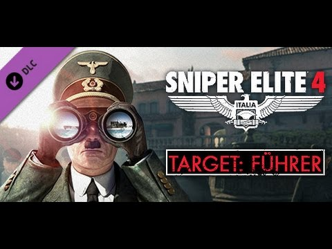 sniper elite 4 dlc target fuhrer!!!!! full walk through with ...