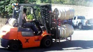 Armida Winery 's Jessica Boone Forklift 101