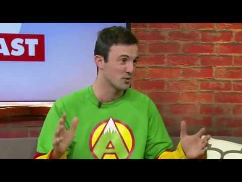 Jamie McDonald - CP24 breakfast Show - Canada book tour