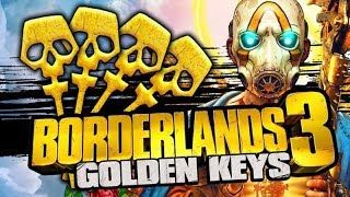Borderlands 3 - Working Shift Codes For Golden Keys (2019) - All Console PS4, XboxOne & PC