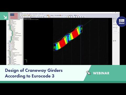 Webinar Design Of Craneway Girders According To Eurocode 3 Youtube