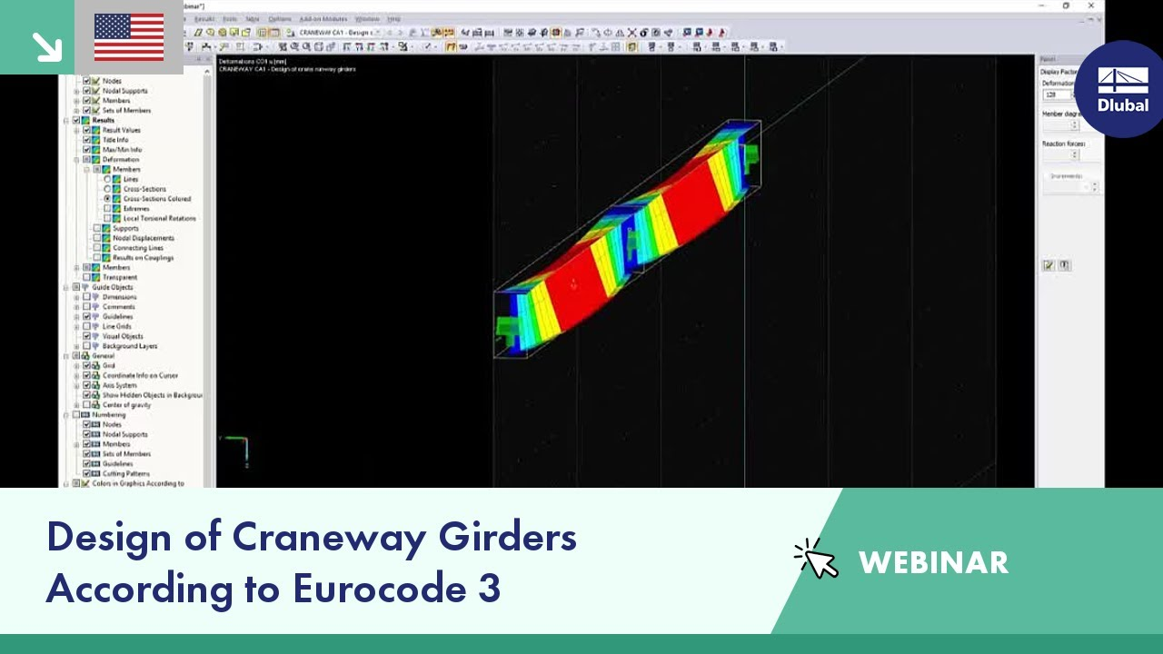 Dlubal Webinar: Design of Craneway Girders According to Eurocode 3