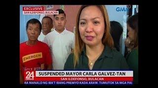 24 Oras: Mayor Carla Galvez-Tan na pinasuspinde ng Ombudsman, emosyonal nang bumaba sa puwesto