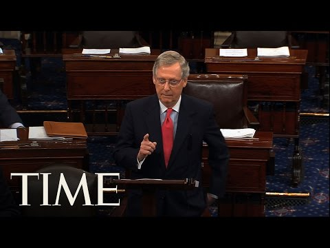 Mitch McConnell's Opening Floor Remarks Following Firing Of FBI Director James Comey | TIME