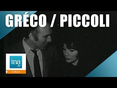 Juliette Gréco et Michel Piccoli à Saint Céré | Archive INA