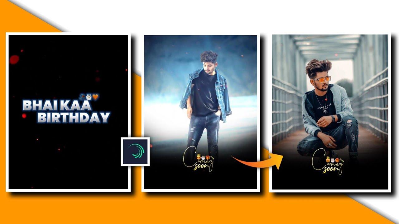 Happy Birthday New Video Editing Tutorial ll Birthday Special Whatsapp Status Editing Alight Motion