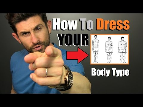 How To Dress YOUR Body Type | 6 Tough Men's Body Shape Style Advice