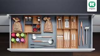 [IDEAS FOR LIVING] Häfele Kitchen Makeover #4 - Before & After | Drawer Organization System