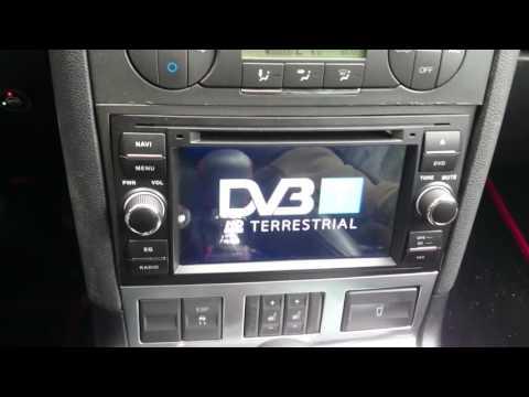 Mondeo Mk3 ST220 Multimedia Car Radio Android