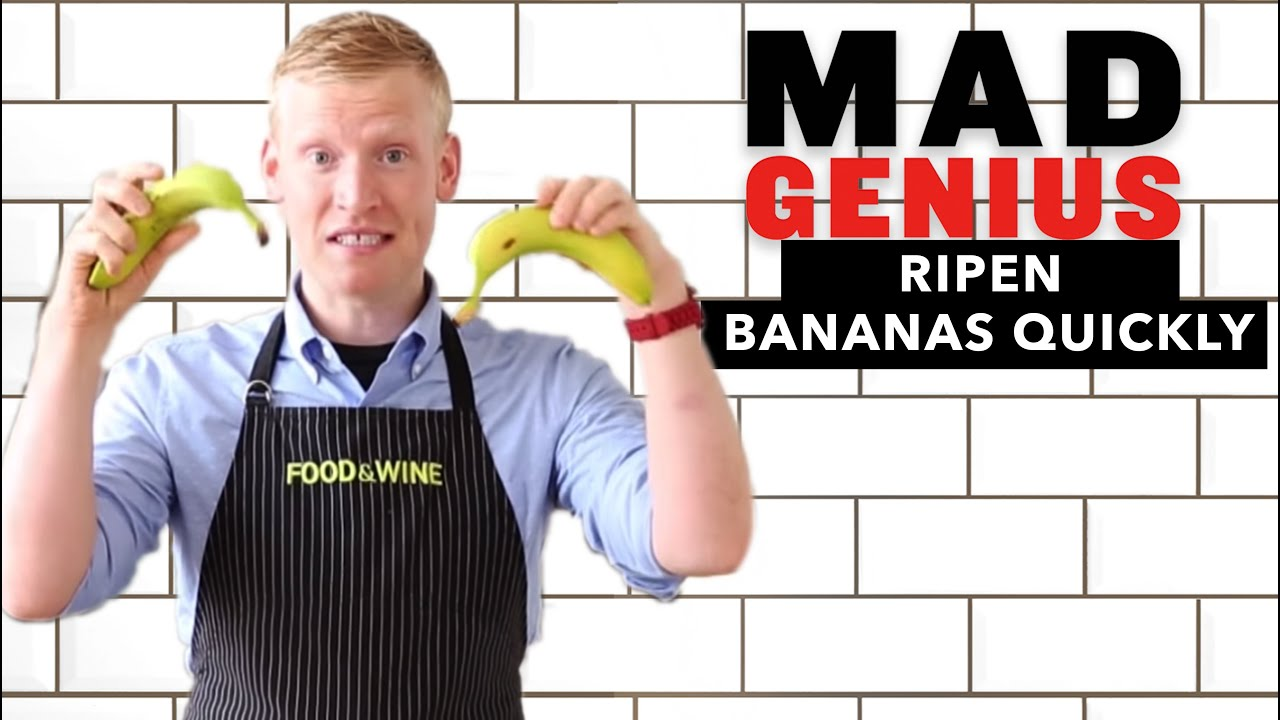 How to ripen bananas quickly mad genius tips food wine youtube forumfinder Image collections