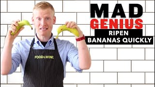 How to Ripen Bąnanas Quickly | Mad Genius Tips | Food & Wine