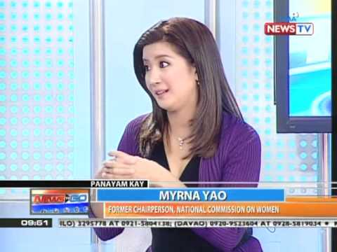 Kara David interviews Myrna Yao on Int'l Women's Day