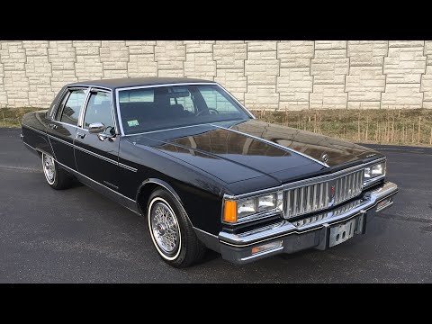 1986 pontiac parisienne brougham with 67k miles by specialty motor cars -  youtube