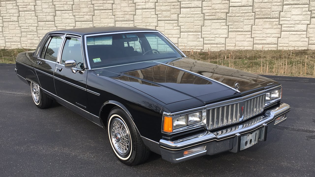 1986 Pontiac Parisienne Brougham with 67k miles By Specialty Motor Cars -  YouTubeYouTube