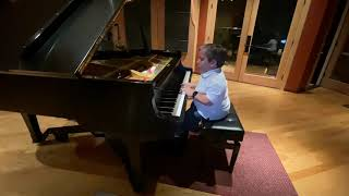 King of Kings (Hillsong Piano Cover) видео