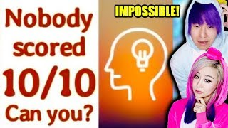 The Hardest IQ Test! 99% Of People Fail!