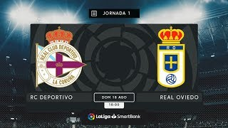RC Deportivo – Real Oviedo MD1 D1800