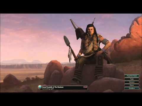 Civilization V OST | Pocatello War Theme | Shoshone Sun Dance Songs