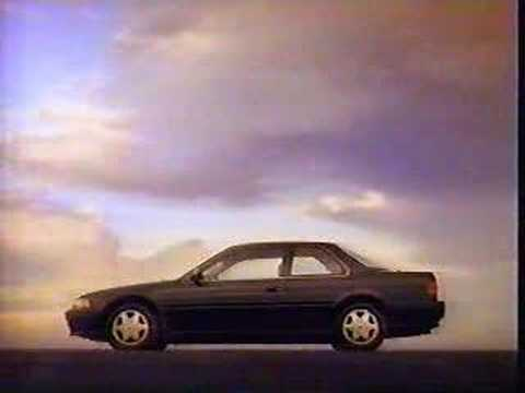 Honda Accord August 1992 Commercial Youtube